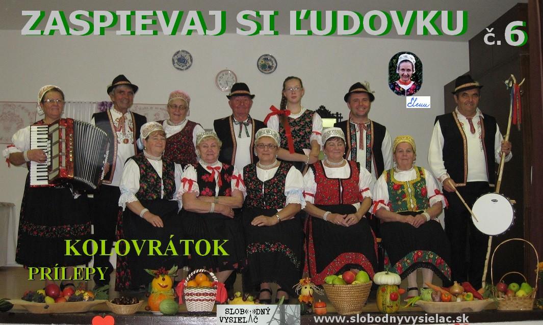 Zaspievaj si ľudovku č.6_Kolovrátok_Prílepy