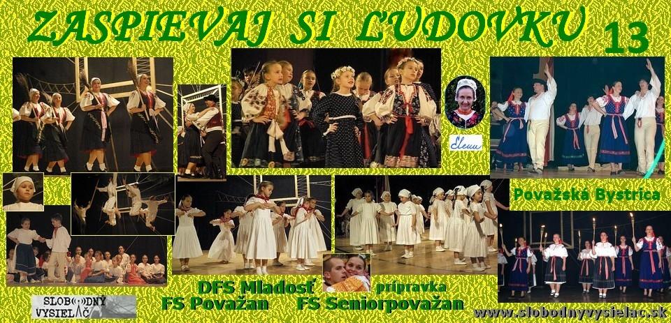 Zaspievaj si ludovku c.13_Mladost, Povazan, Seniorpovazan_Povazská Bystrica