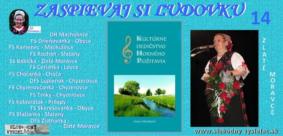 Zaspievaj si ludovku c.14_spieva14 suborov zo Zlatomoravecka