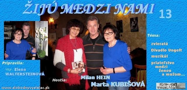 Zmn-13_Marta Kubisova a Milan Hein_Praha