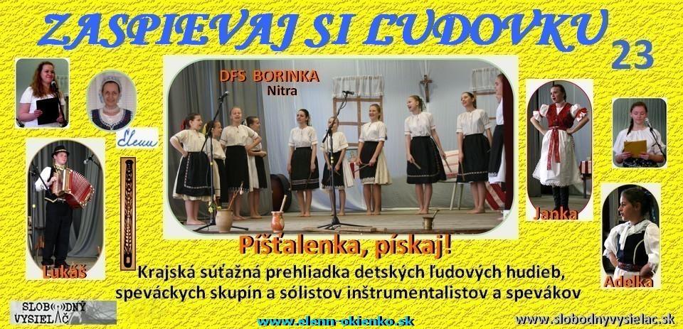 Zsľ-23_Píšťalenka, pískaj_KOS Nitra, KD Sľažany_EW
