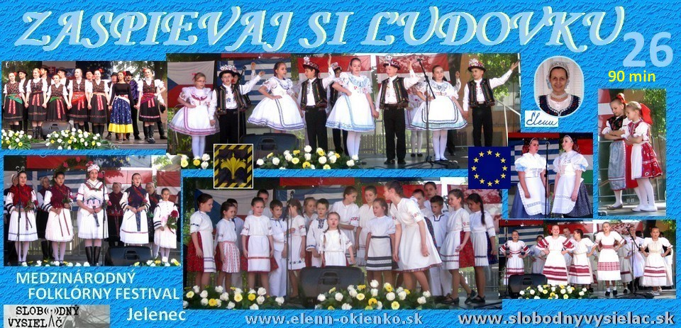 Zaspievaj si ludovku c.26_Medzinarodny folklorny festival_Jelenec_EW