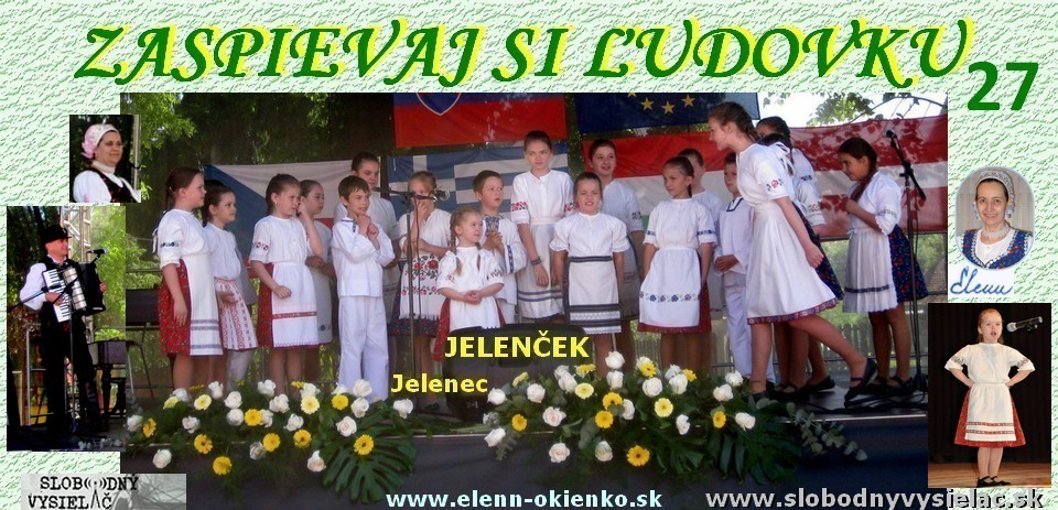 Zaspievaj si ludovku c.27_DFS Jelencek_Jelenec_EW