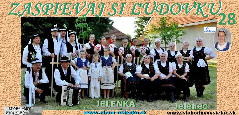 Zaspievaj si ludovku c.28_Jelenka_Jelenec_EW