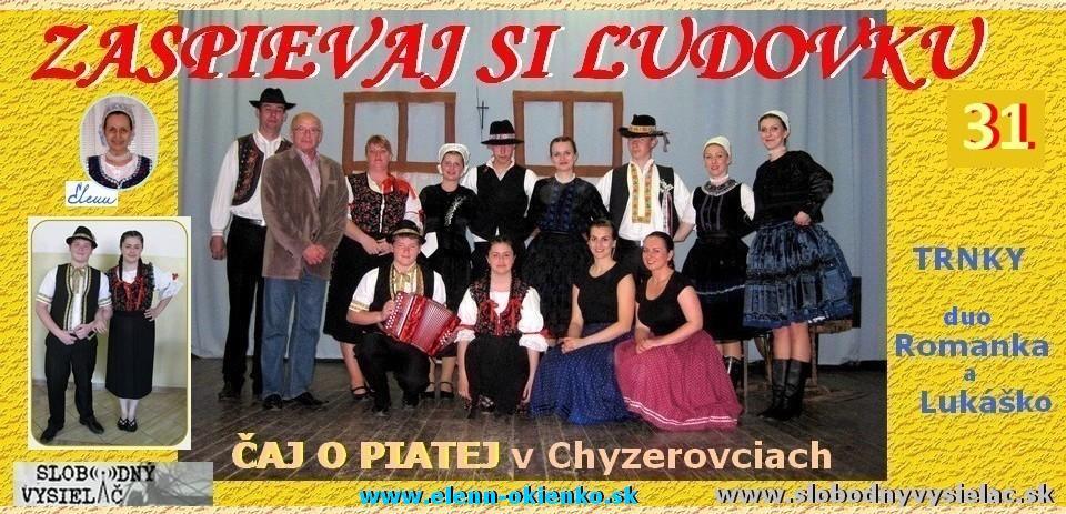 Zaspievaj si ludovku c.31_duo Romanka & Lukasko a Trnky_Chyzerovce_Caj o piatej_EW