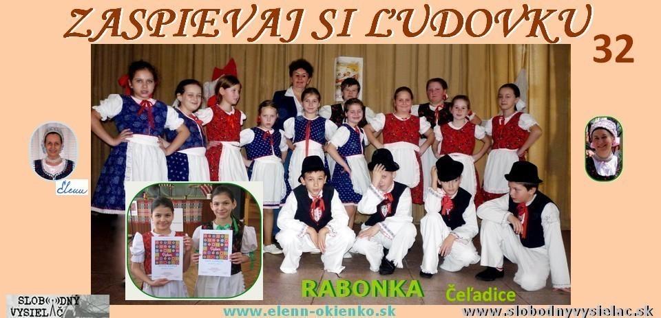 Zaspievaj si ludovku c.32_DFS Rabonka_Celadice_EW