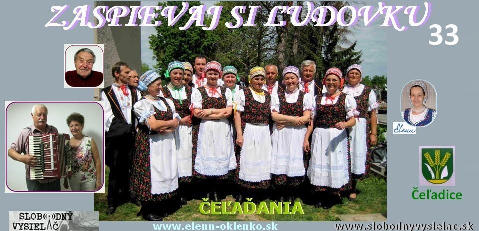 Zaspievaj si ludovku c.33_Celadania_Celadice_EW