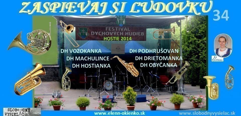 Zaspievaj si ludovku c.34_Festival dychových hudieb_Hostie2014_EW