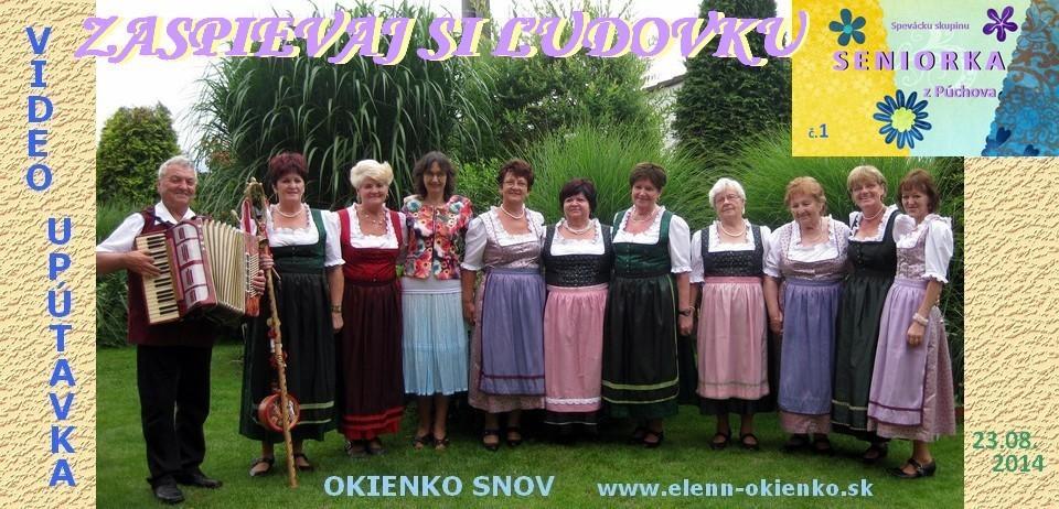 Zaspievaj si ľudovku_video-upútavka č.1_ Seniorka_Púchov_EW