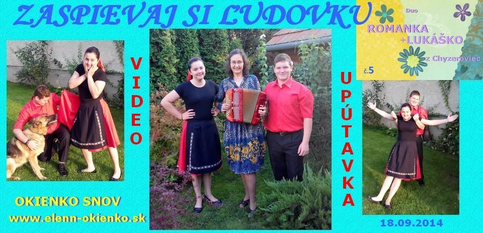 05_Zaspievaj si ľudovku_video-upútavka_Duo ROMANKA+LUKÁŠKO_Chyzerovce_EW