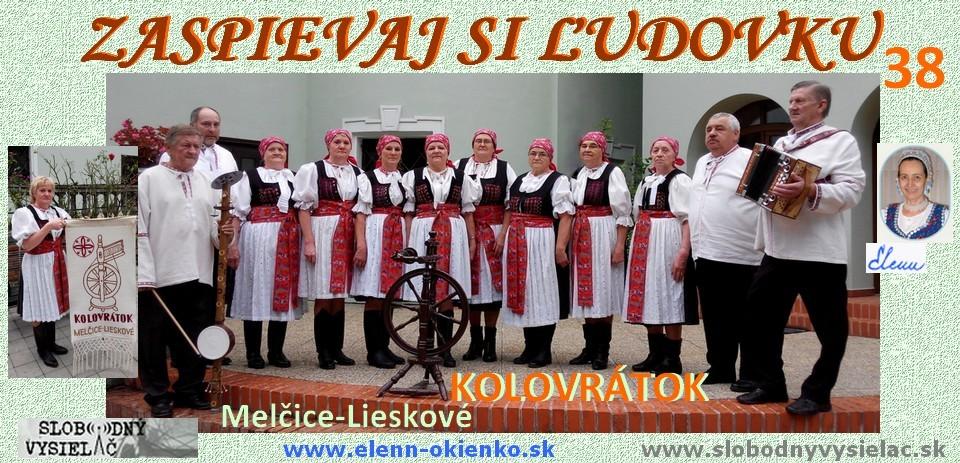 Zaspievaj si ludovku c.38_Kolovratok_Melcice-Lieskove_EW