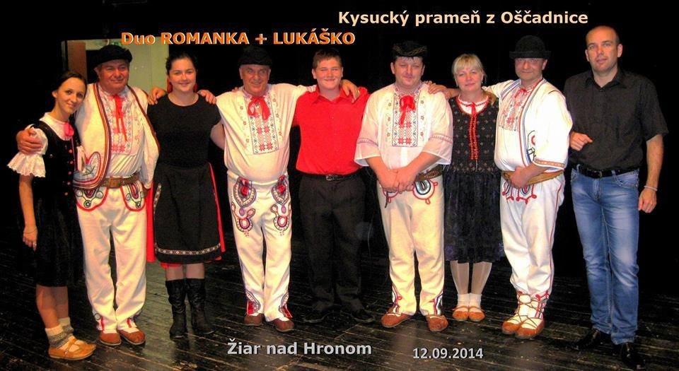 Duo ROMANKA a LUKÁŠKO s Kysuckým prameňom