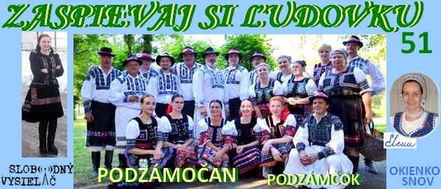 Zaspievaj si ludovku 51_Podzamocan_Podzamcok_EW