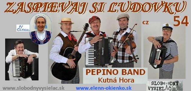 Zaspievaj si ludovku c.54_Pepino Band_Kutna Hora_EW
