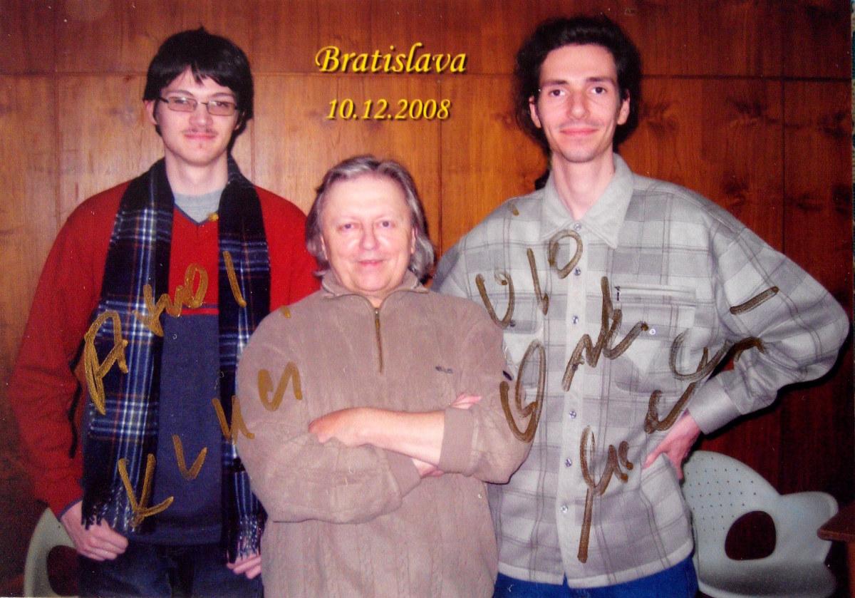 Vašek a naši chlapci v Bratislave