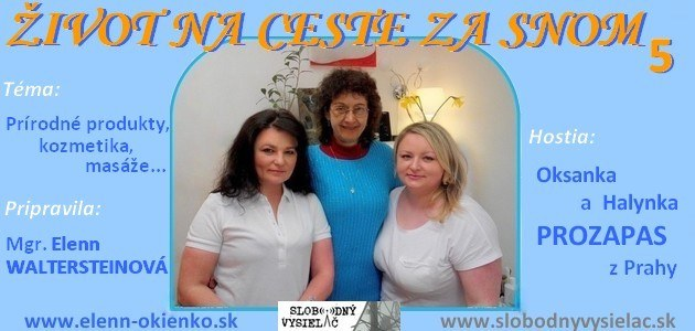 Zivot na ceste za snom c.5_Oksanka a Halynka Prozapas_Praha_EW