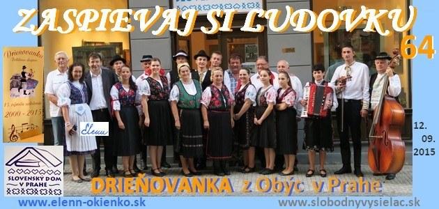 Zaspievaj si ludovku c.64_Drienovanka z Obyc v Prahe_EW