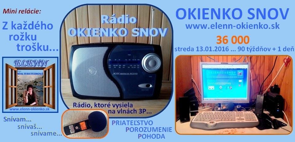 Rádio OKIENKO SNOV