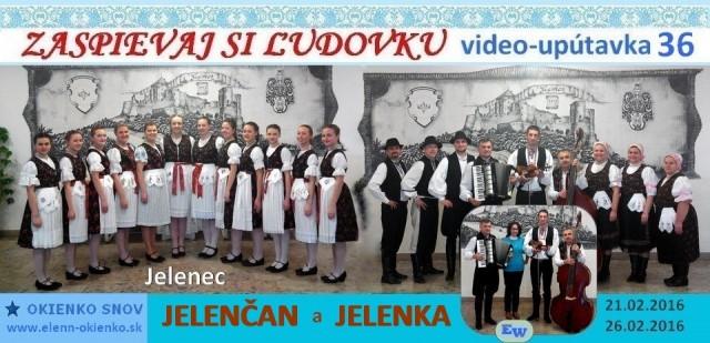 36_Zaspievaj si ľudovku_video-upútavka_JELENČAN a JELENKA_Jelenec_EW