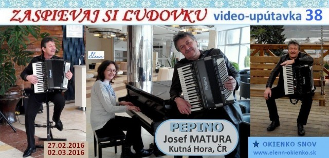 38_Zaspievaj si ľudovku_video-upútavka_Josef PEPINO Matura_Kutná Hora, ČR_EW