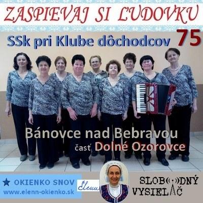 Zaspievaj si ludovku 75_SSk pri Klube dochodcov v Banovciach nad Bebravou_23-03-2016_EW