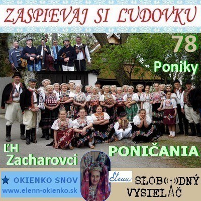 Zaspievaj si ludovku 78_Ponicania a LH Zacharovci_Poniky_18-05-2016_EW