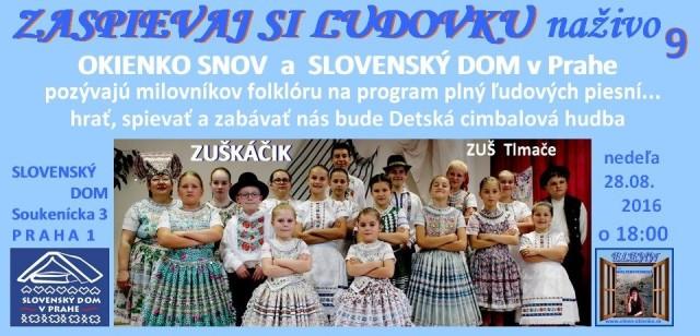 ZASPIEVAJ SI ĽUDOVKU naživo_09_Praha_EW